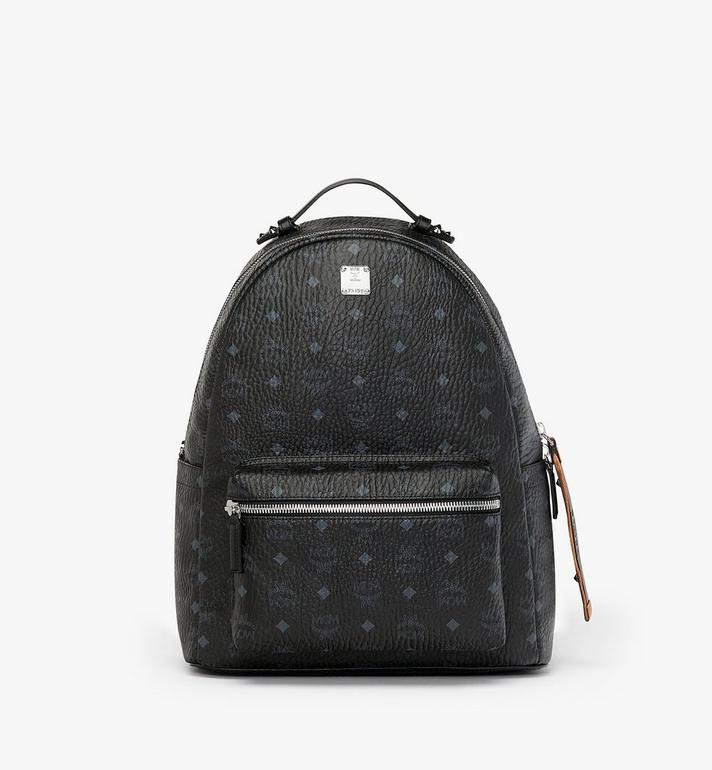 MCM Stark Backpack in Visetos MMK9SVE73BK001 AlternateView