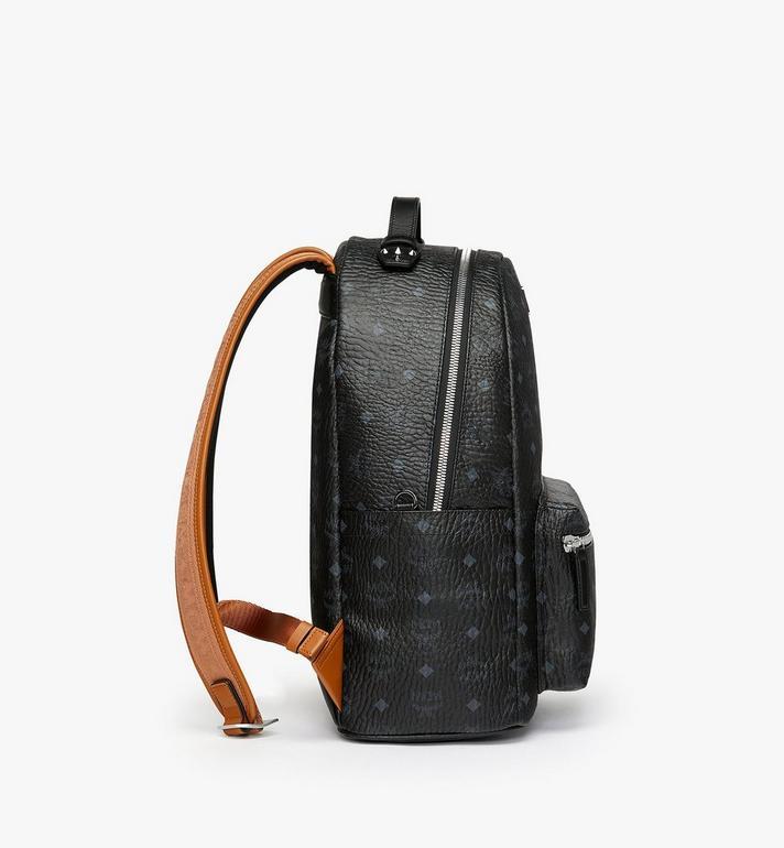 MCM Stark Backpack in Visetos MMK9SVE73BK001 AlternateView2
