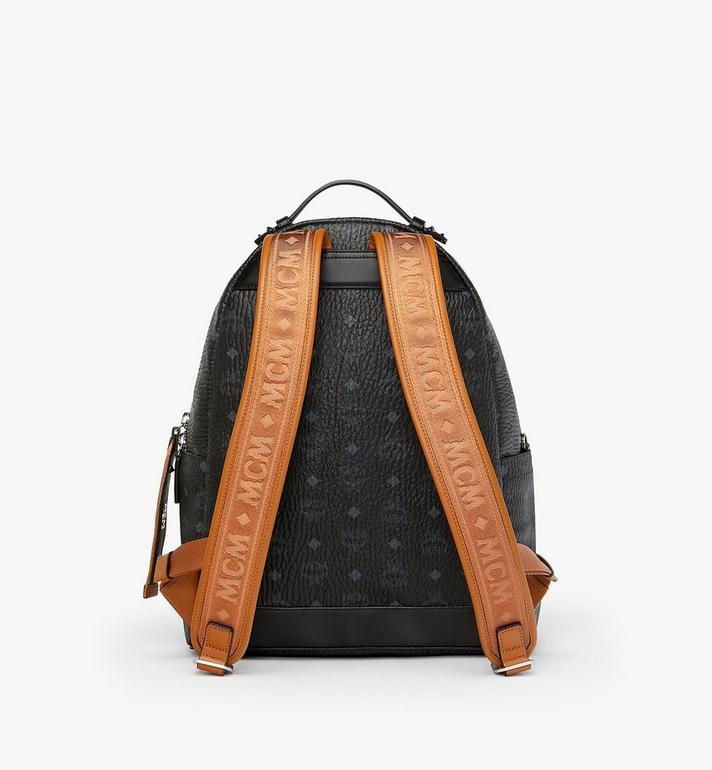 MCM Stark Backpack in Visetos MMK9SVE73BK001 AlternateView3