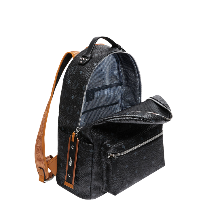 MCM Stark Backpack in Visetos MMK9SVE73BK001 AlternateView5