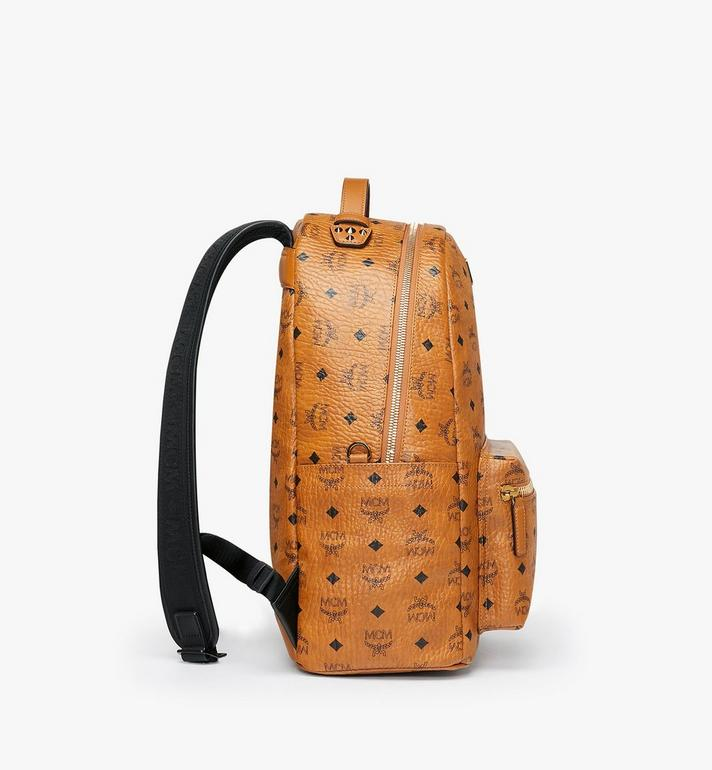 MCM Stark Backpack in Visetos Alternate View 2
