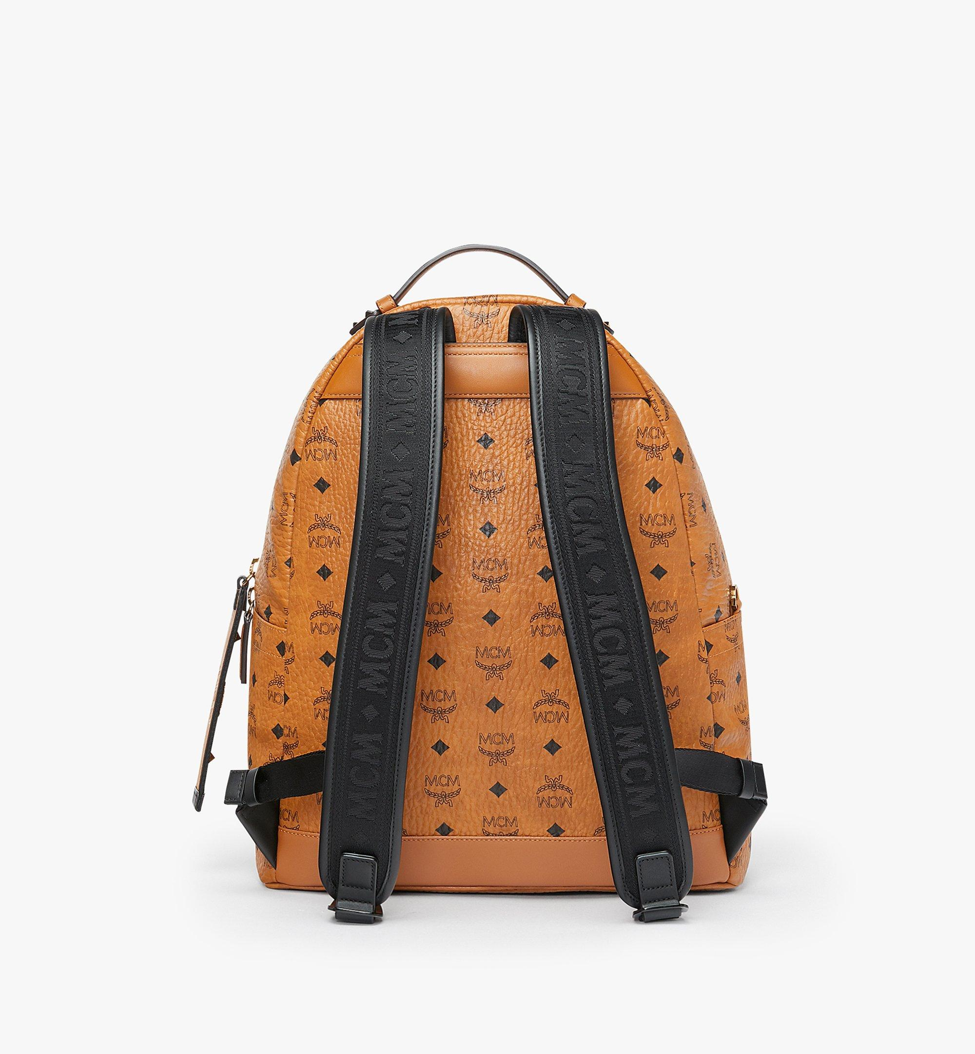 40 cm 16 in Stark Backpack in Visetos Cognac | MCM® DE