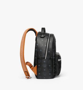 MCM Stark Backpack in Visetos MMK9SVE74BK001 AlternateView2