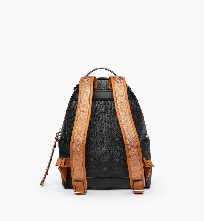 MCM Stark Backpack in Visetos MMK9SVE74BK001 AlternateView3