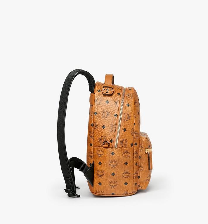 MCM Stark Backpack in Visetos MMK9SVE74CO001 AlternateView2