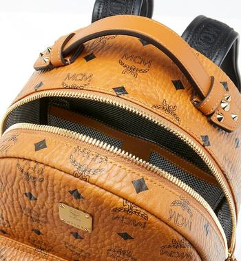 MCM Stark Backpack in Visetos MMK9SVE74CO001 AlternateView4