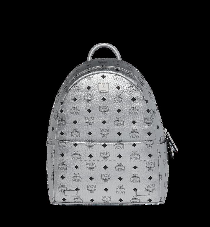 MCM Trilogie Stark Backpack in Visetos Silver MMK9SVE75SB001 Alternate View 5