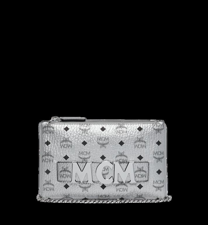 MCM Trilogie Stark Rucksack in Visetos Silver MMK9SVE75SB001 Alternate View 6