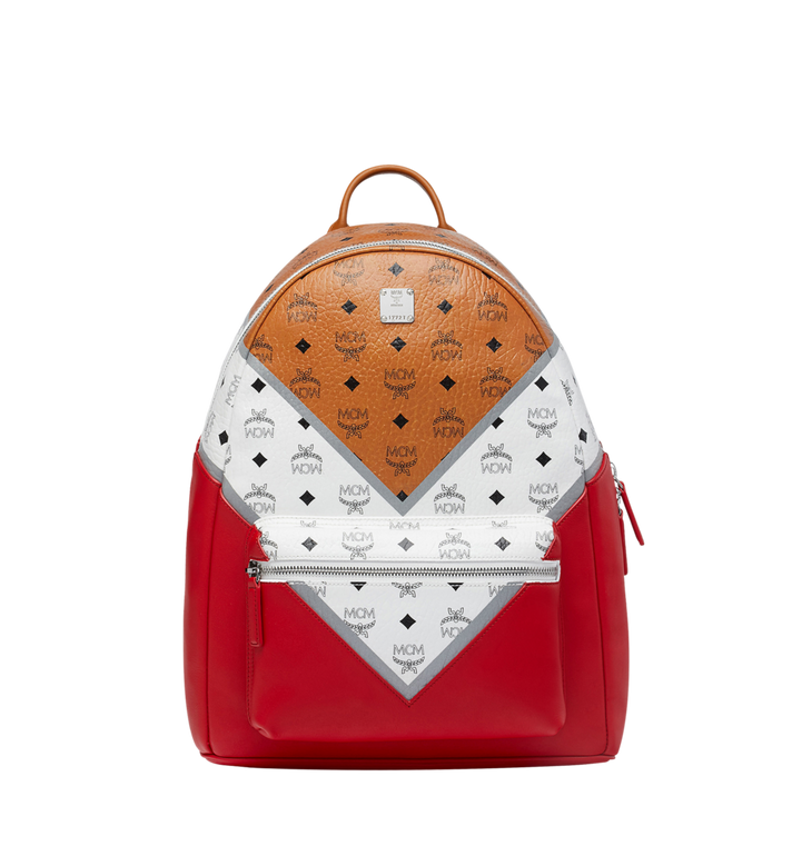 MCM Stark Backpack in M Move Visetos AlternateView