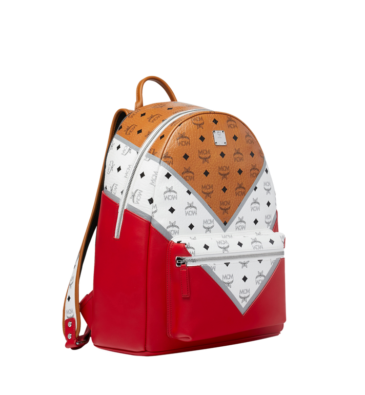MCM Stark Backpack in M Move Visetos Alternate View 2