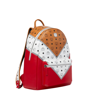 MCM Stark Backpack in M Move Visetos AlternateView2