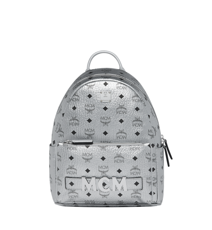 MCM Trilogie Stark Backpack in Visetos MMK9SVE87SB001 AlternateView
