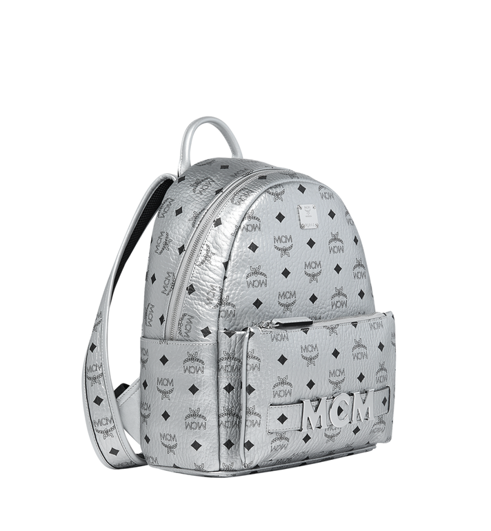 MCM Trilogie Stark Backpack in Visetos MMK9SVE87SB001 AlternateView2