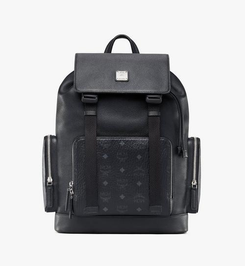 Brandenburg Backpack in Visetos Leather Block