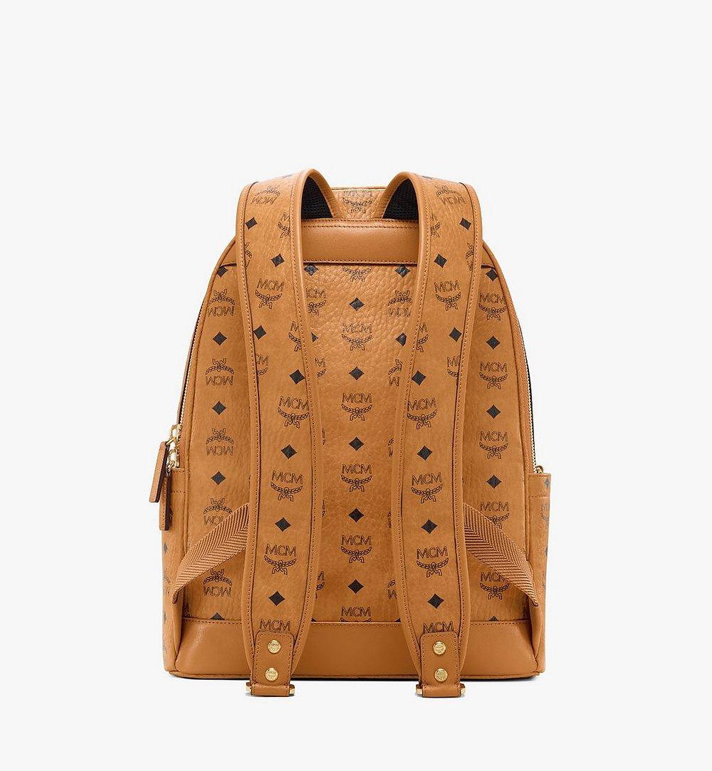 MCM Stark Backpack in Visetos Cognac MMKAAVE07CO001 Alternate View 3