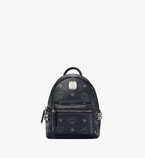 Stark Bebe Boo Side Studs Backpack in Visetos