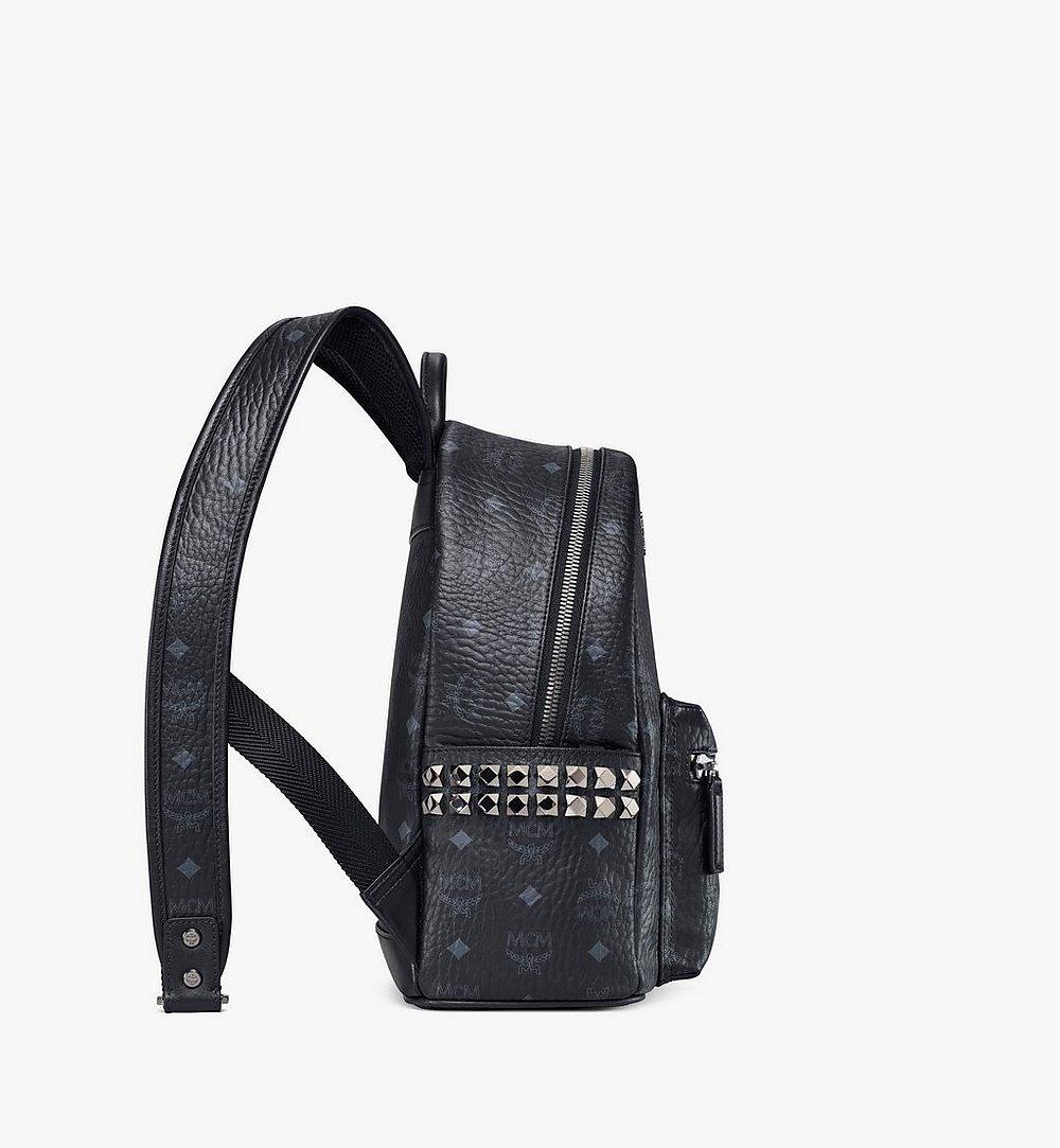 MCM Stark Side Studs Backpack in Visetos Cognac MMKAAVE15BK001 Alternate View 1