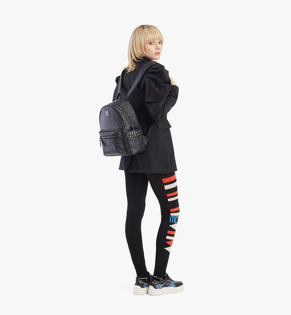 MCM Stark Side Studs Backpack in Visetos Cognac MMKAAVE15BK001 Alternate View 3