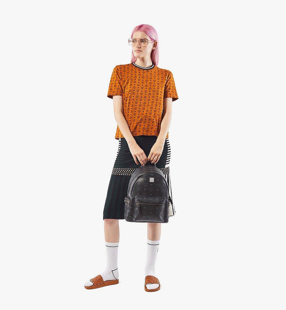 MCM Stark Side Studs Backpack in Visetos Cognac MMKAAVE15BK001 Alternate View 6