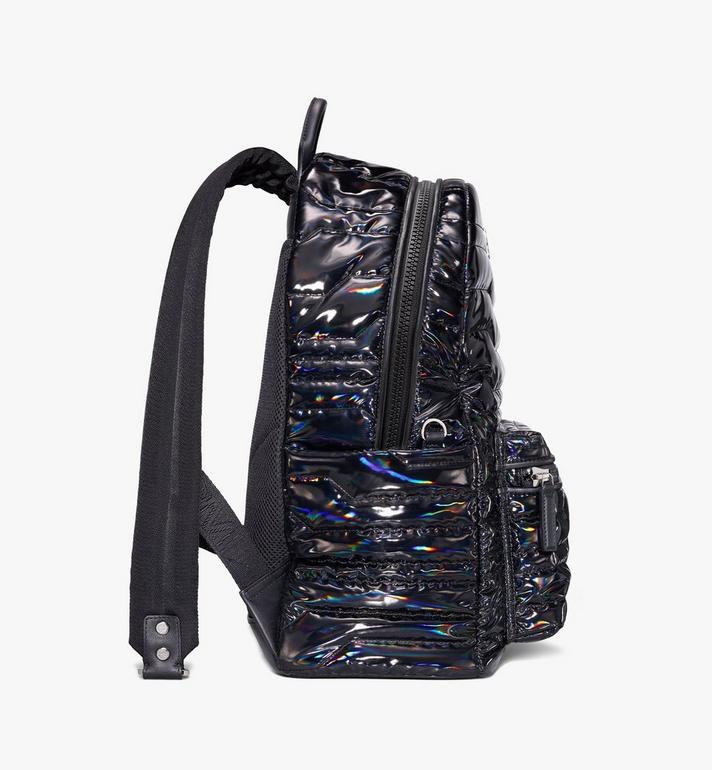 MCM Stark Backpack in Tec-Quilt Fabric Black MMKAAVE19BK001 Alternate View 2