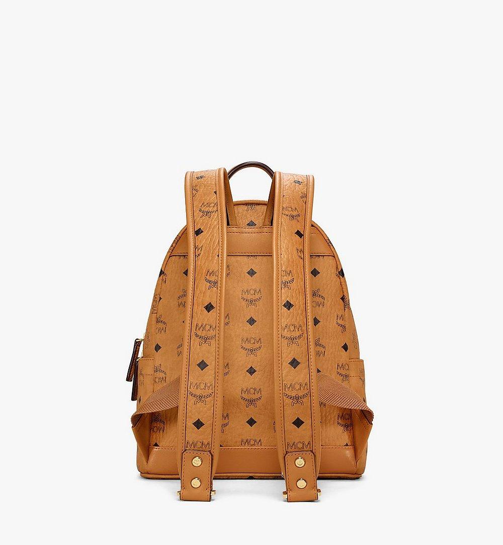 MCM Stark Backpack in Berlin Bear Visetos Cognac MMKAAVE28CO001 Alternate View 3