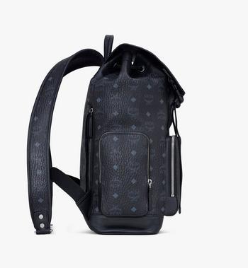 MCM Brandenburg Backpack in Visetos Black MMKASBG03BK001 Alternate View 2