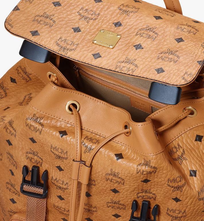 MCM Brandenburg Backpack in Visetos Cognac MMKASBG03CO001 Alternate View 4