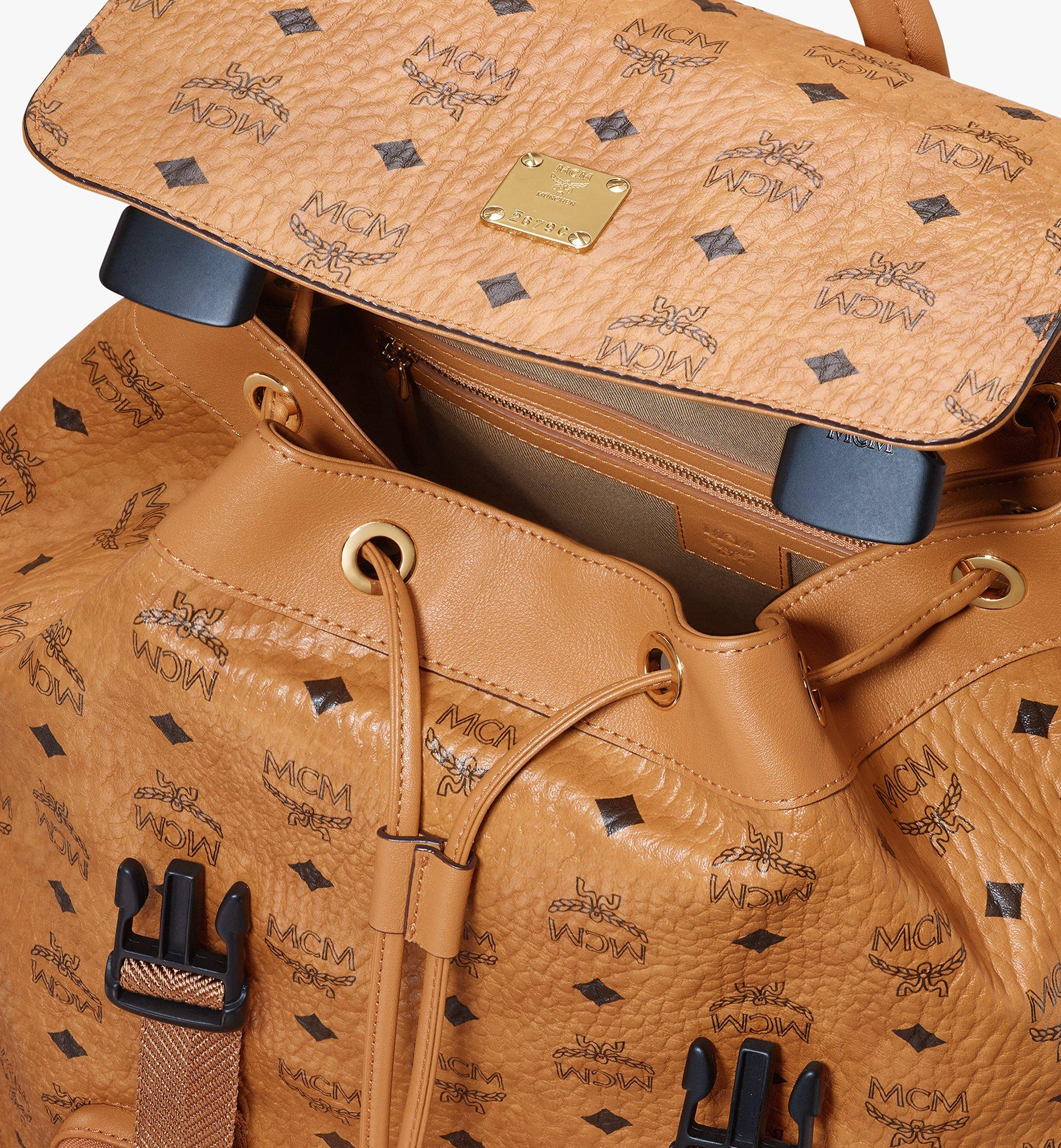 Large Brandenburg Backpack in Visetos Cognac | MCM® DE