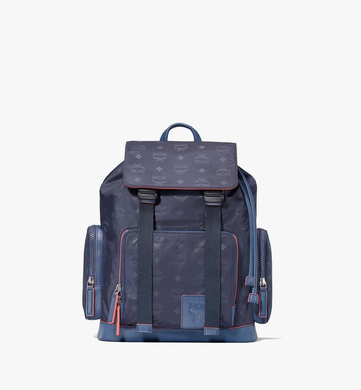 MCM Brandenburg Backpack in Monogram Nylon Alternate View