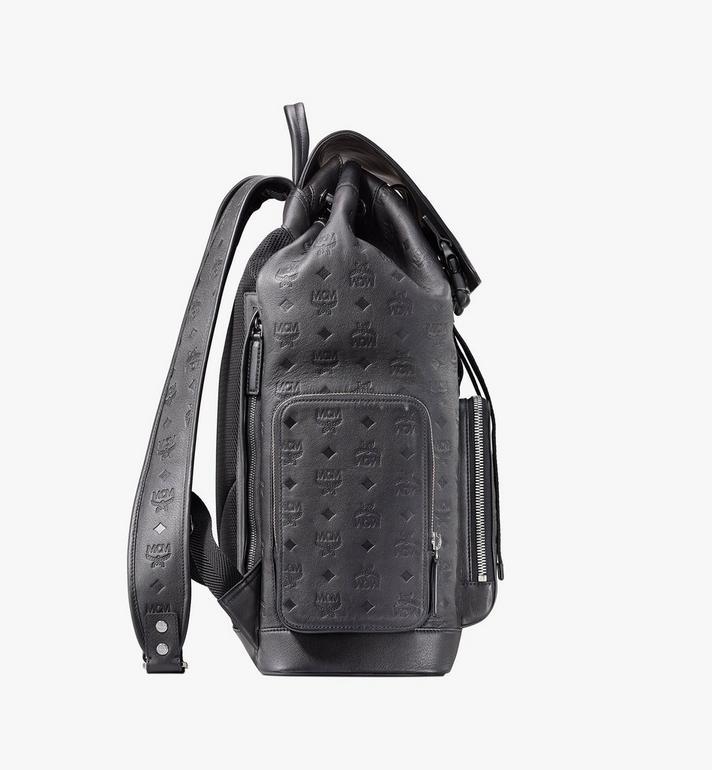 MCM Brandenburg Backpack in Monogram Leather Black MMKASBG09BK001 Alternate View 2