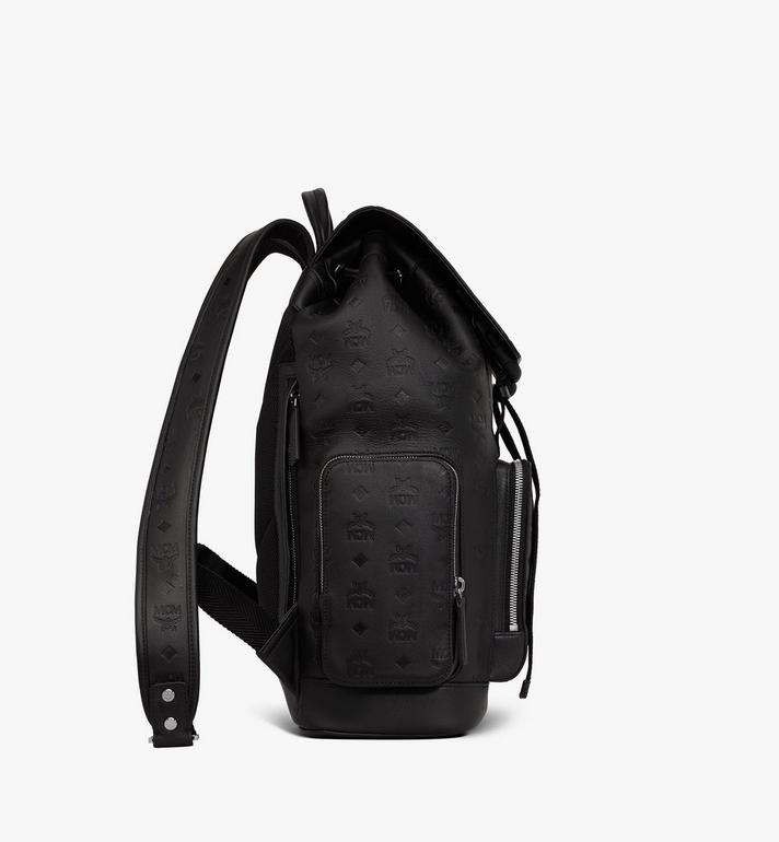MCM Brandenburg Backpack in Monogram Leather Black MMKASBG10BK001 Alternate View 2