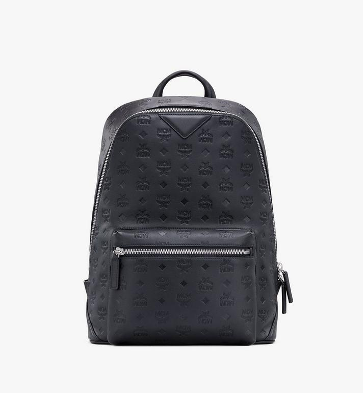 MCM Neo Duke Backpack in Monogram Leather Alternate View