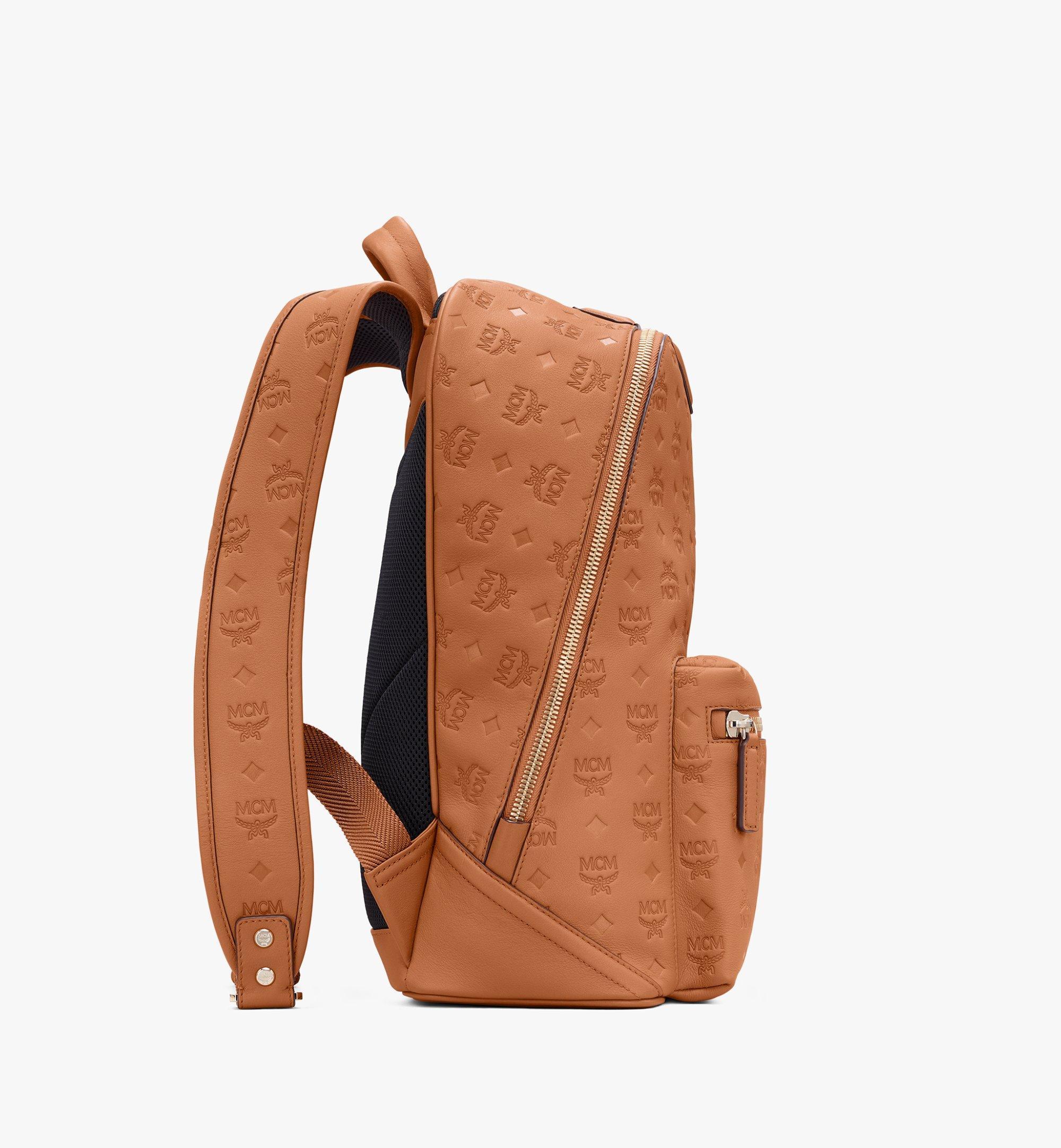 MCM Neo Duke Backpack in Monogram Leather Cognac MMKASDK01CO001 Alternate View 2