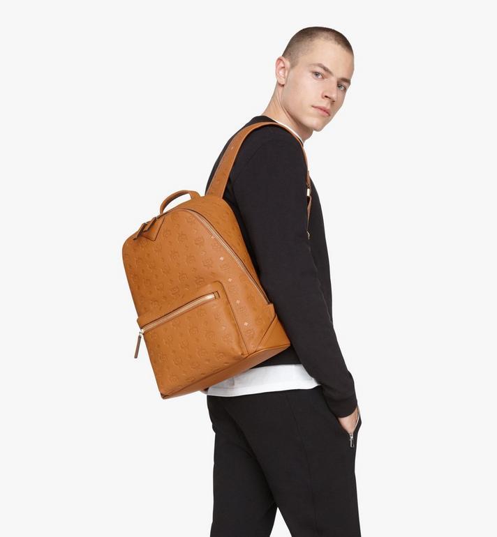 MCM Neo Duke Backpack in Monogram Leather Cognac MMKASDK01CO001 Alternate View 5