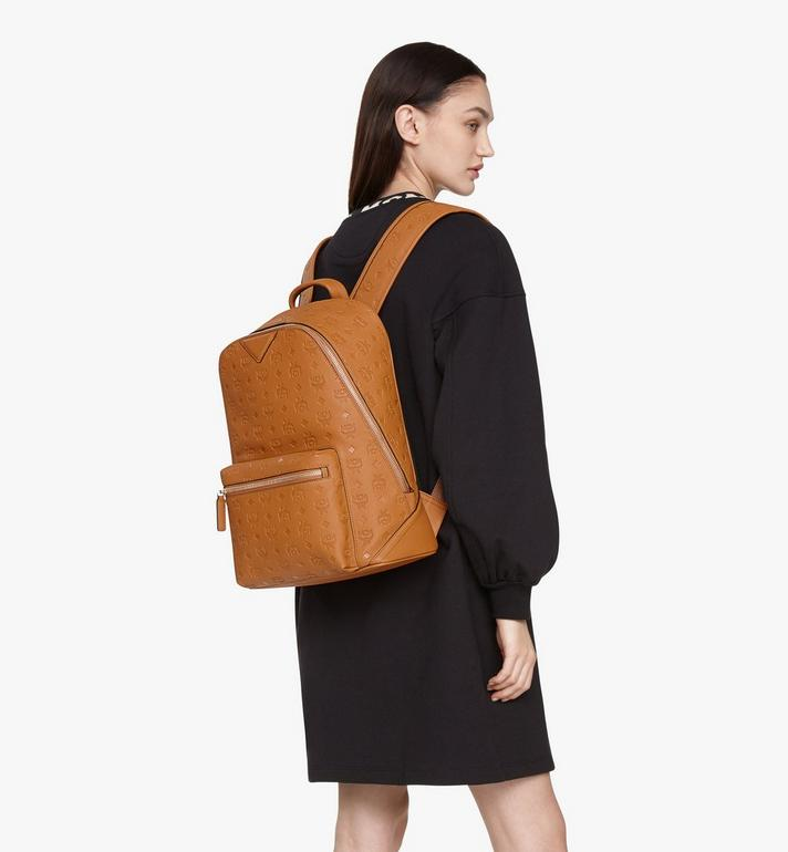 MCM Neo Duke Backpack in Monogram Leather Cognac MMKASDK01CO001 Alternate View 7