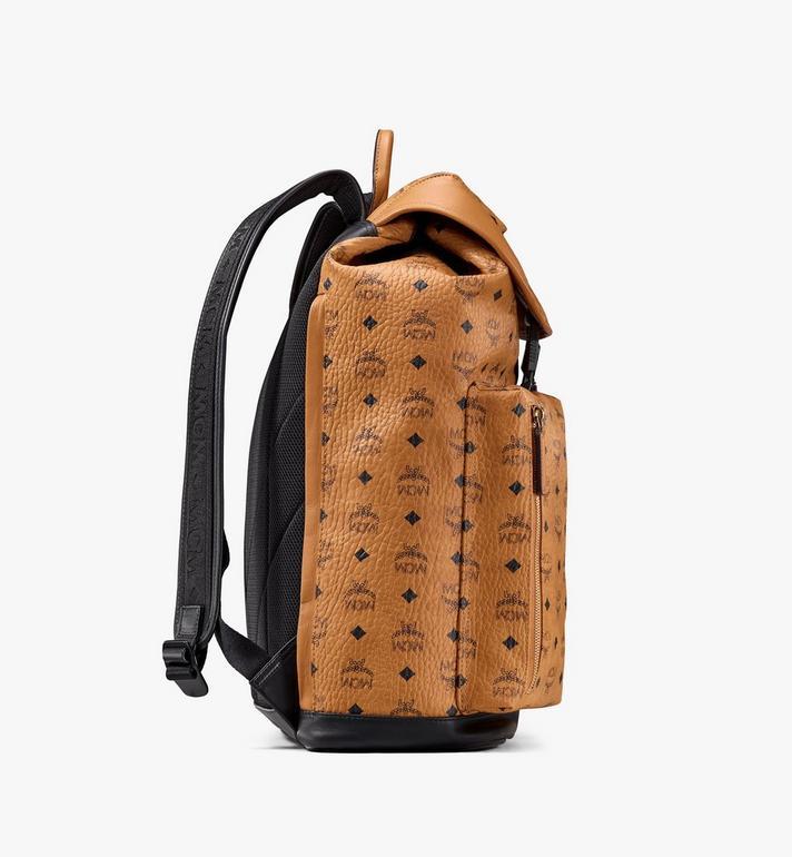 MCM Kreuzberg Backpack in Visetos Cognac MMKASGE01CO001 Alternate View 2