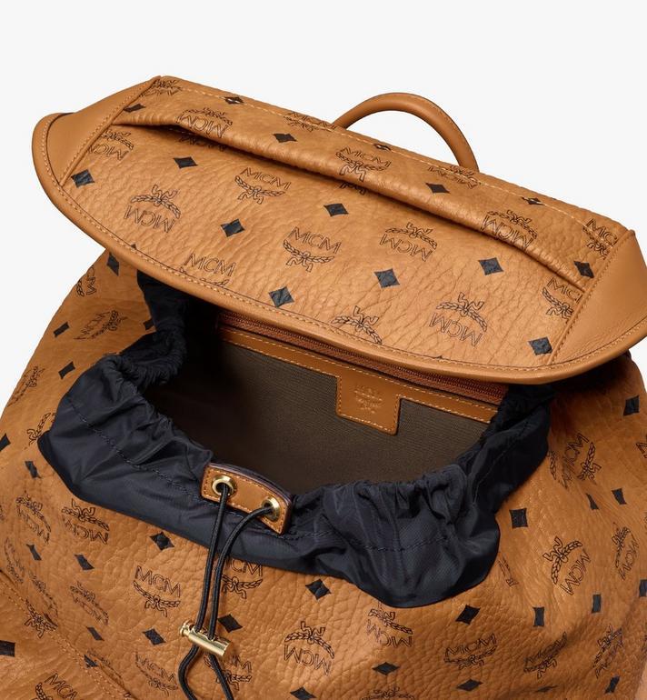 MCM Kreuzberg Backpack in Visetos Cognac MMKASGE01CO001 Alternate View 4