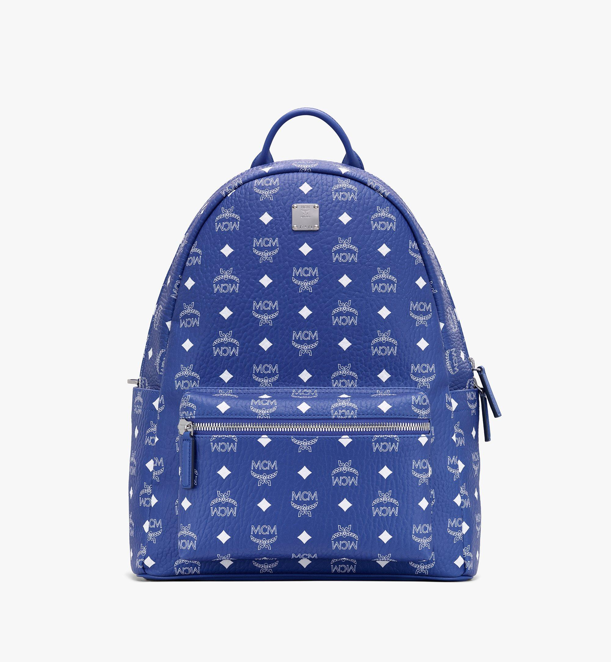 MCM BACKPACK-MMKASVE02 Blue 4106 Alternate View 1