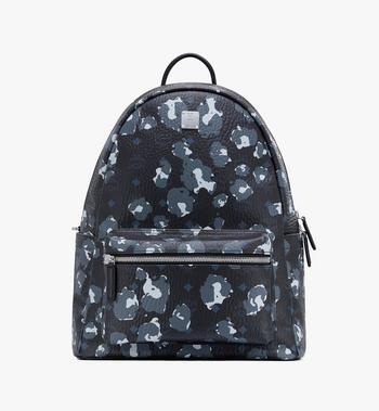 MCM Stark Backpack in Floral Leopard Alternate View