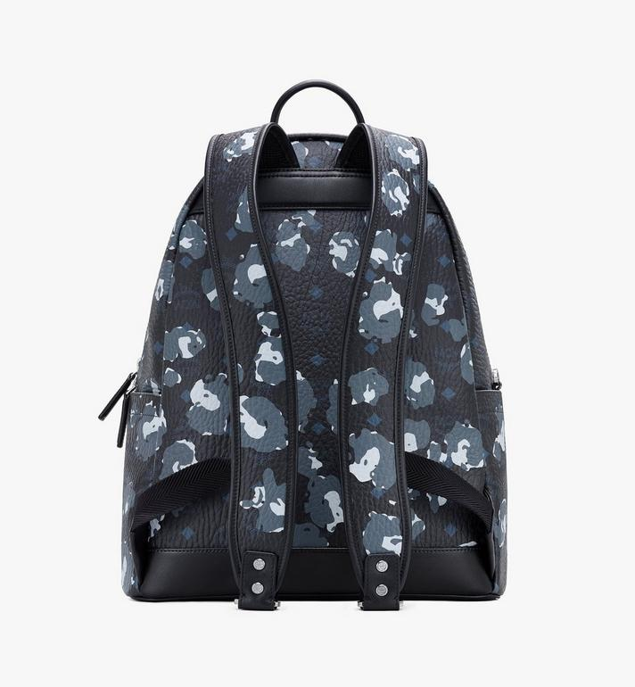 MCM Stark Backpack in Floral Leopard Black MMKASVE08B1001 Alternate View 3