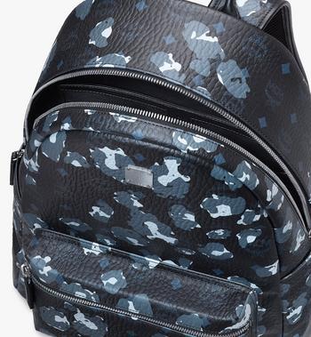 MCM Stark Backpack in Floral Leopard Black MMKASVE08B1001 Alternate View 4