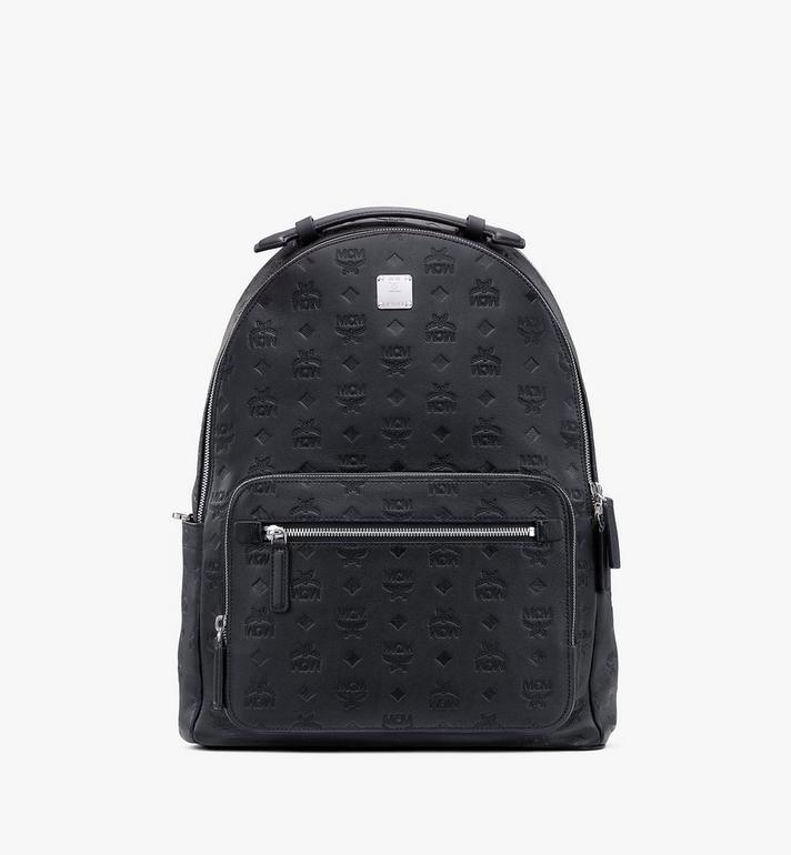 MCM Stark Backpack in Monogram Leather Alternate View