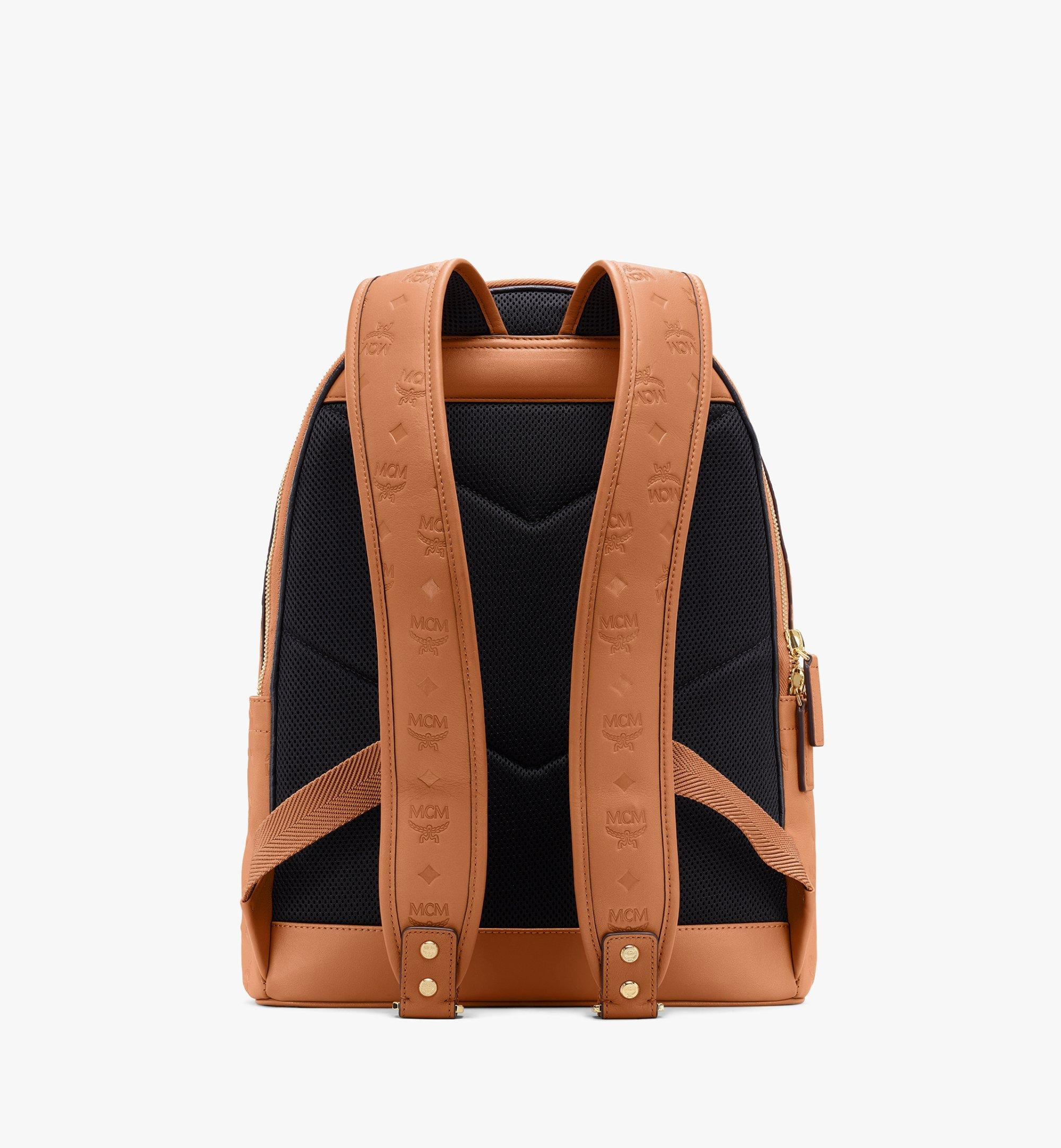 MCM Stark Backpack in Monogram Leather Cognac MMKASVE09CO001 Alternate View 3