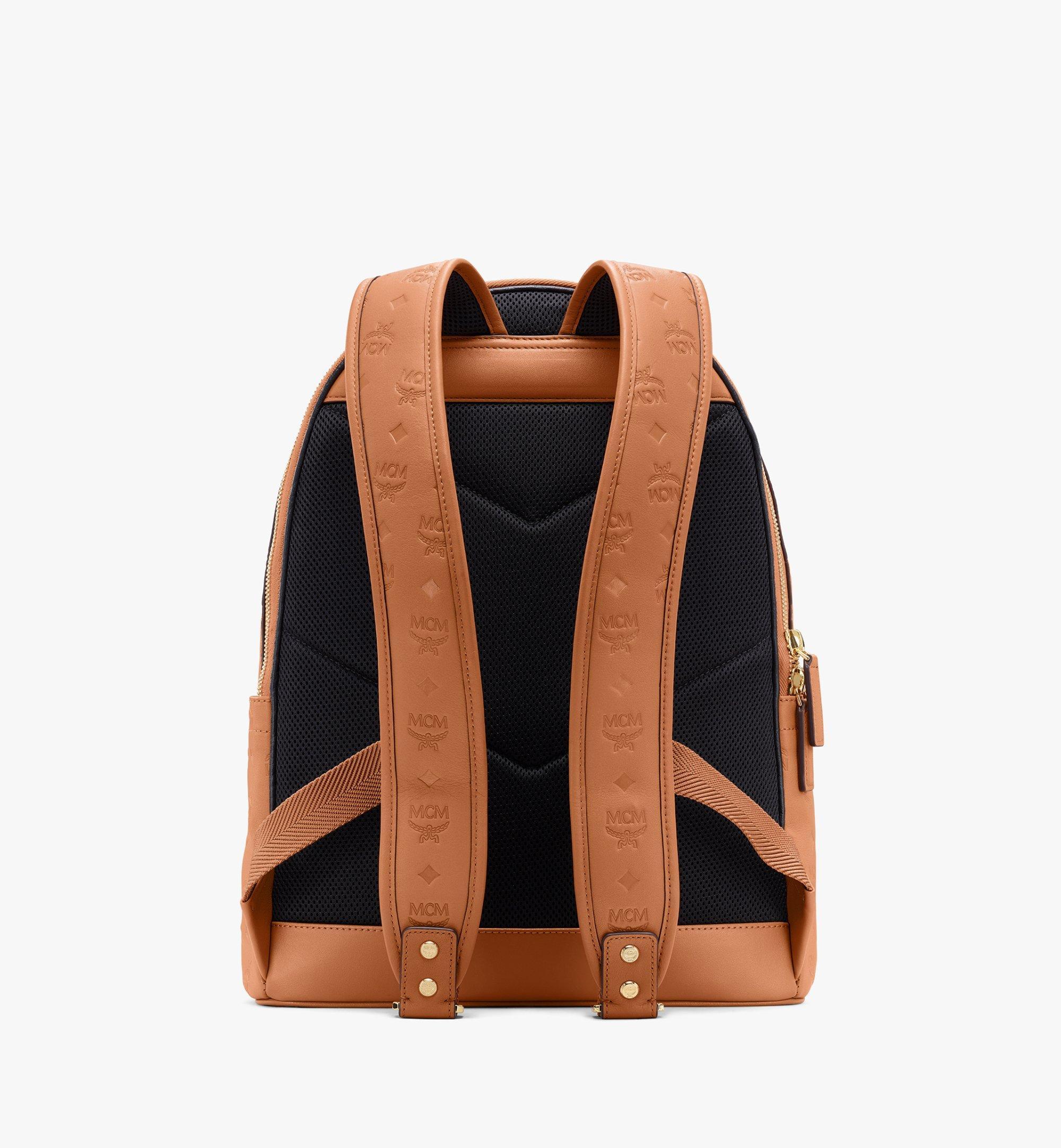 MCM Stark Backpack in Monogram Leather Cognac MMKASVE09CO001 Alternate View 3
