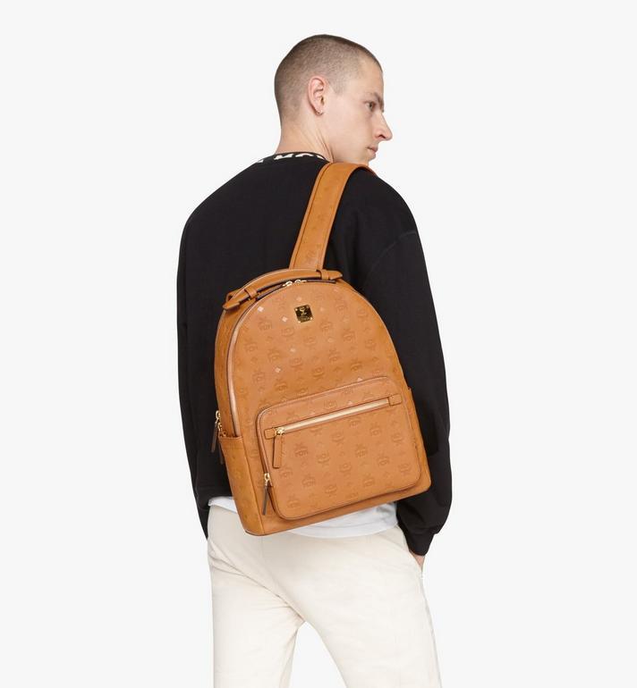 MCM Stark Backpack in Monogram Leather Cognac MMKASVE09CO001 Alternate View 6