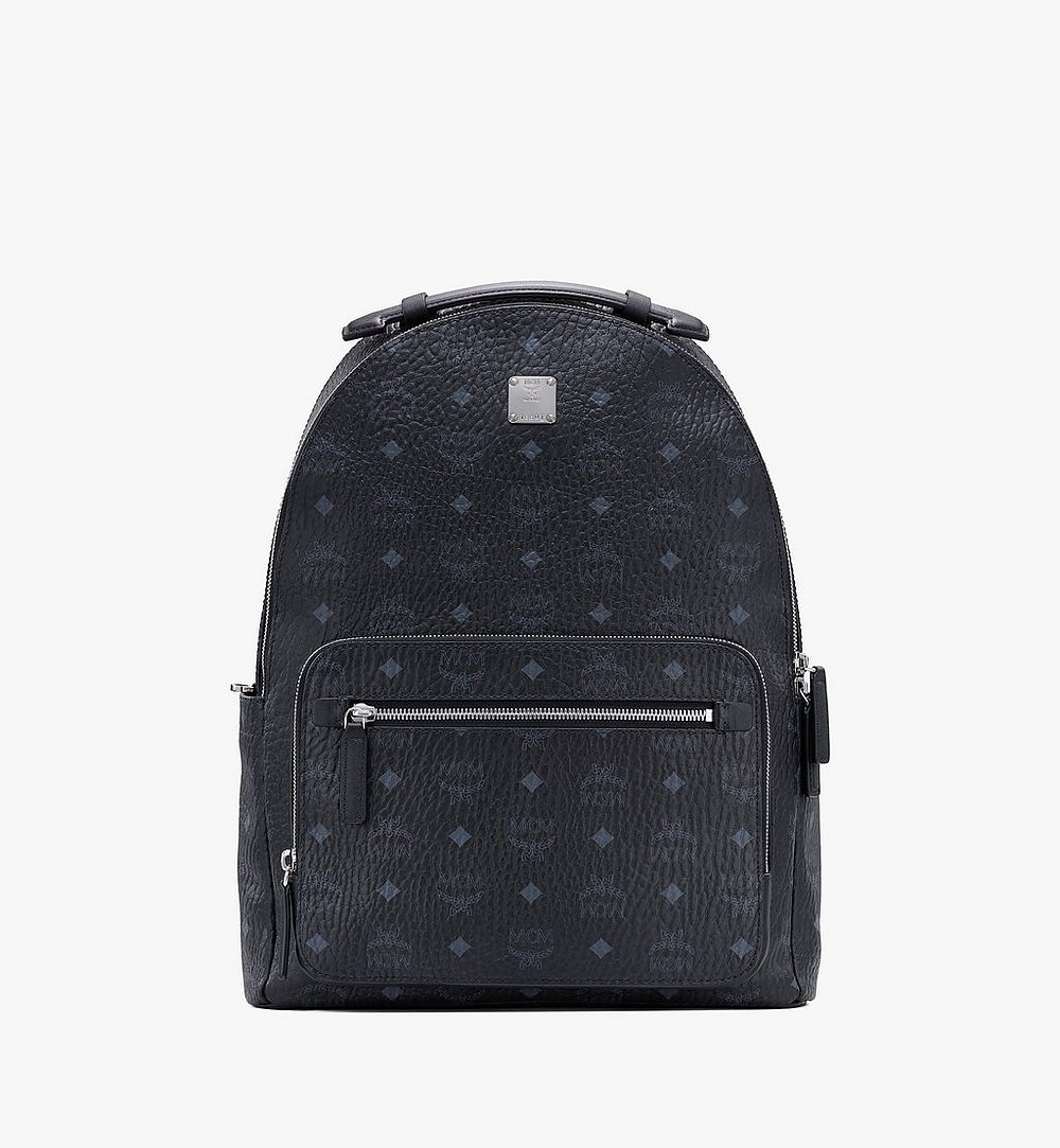MCM Stark Backpack in Visetos Black MMKASVE10BK001 Alternate View 1