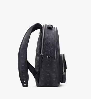 MCM Stark Backpack in Visetos Alternate View 2