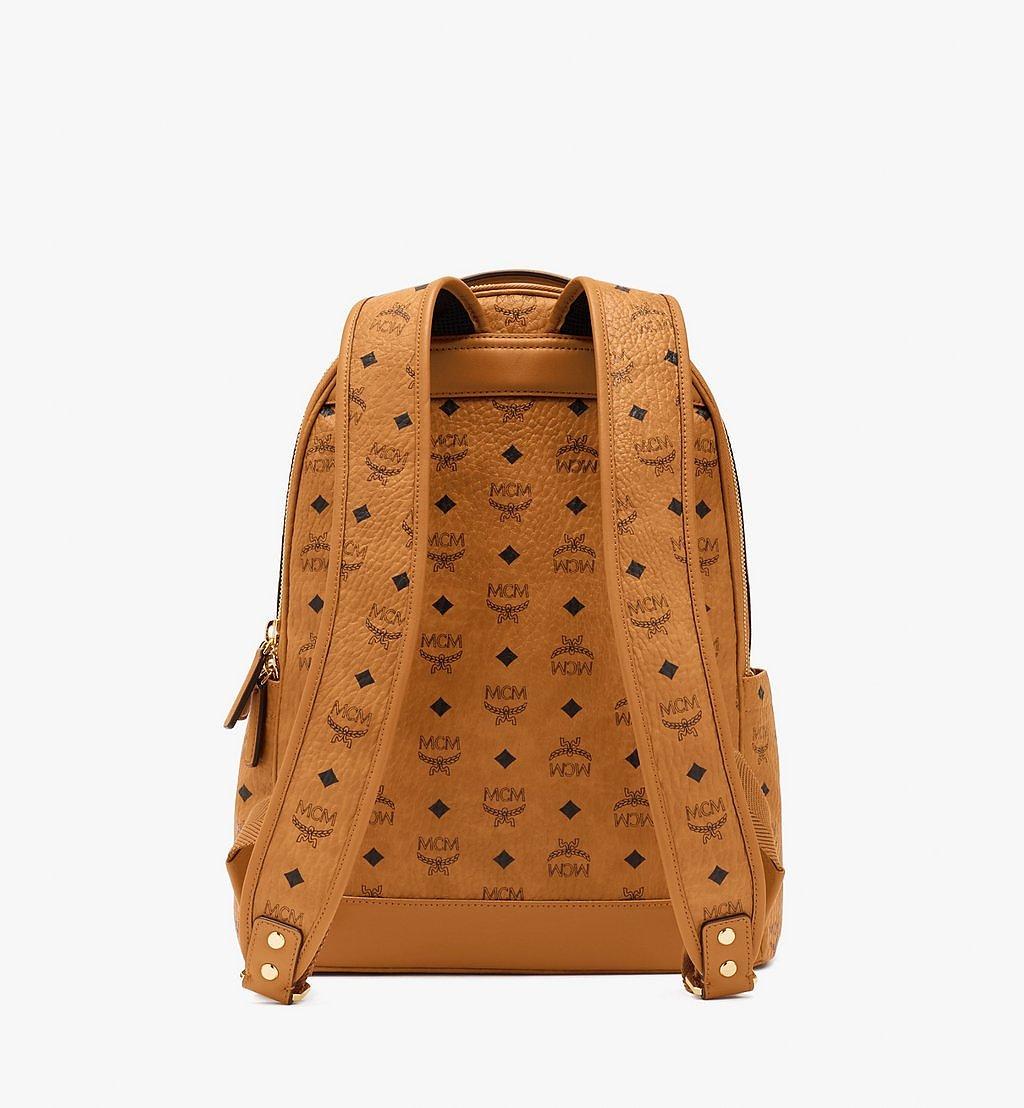 MCM Stark Backpack in Visetos Cognac MMKASVE10CO001 Alternate View 2