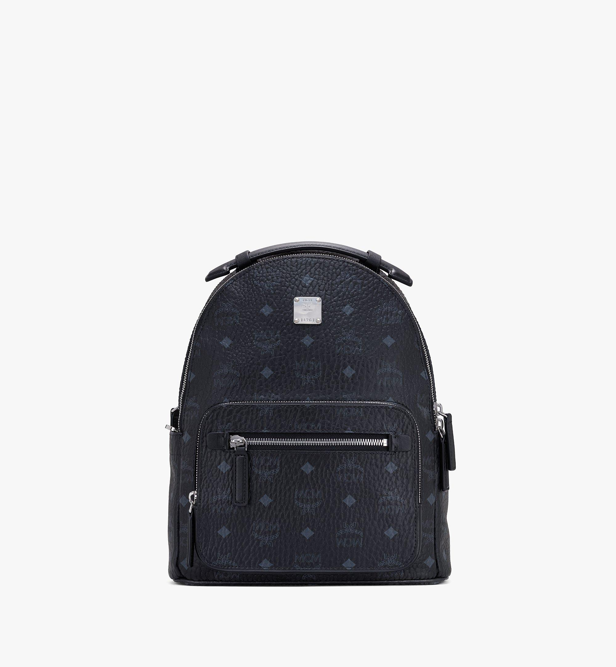 32 cm 12.5 in Stark Rucksack in Visetos Black | MCM® DE
