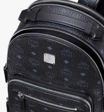 MCM Stark Backpack in Visetos Black MMKASVE11BK001 Alternate View 4